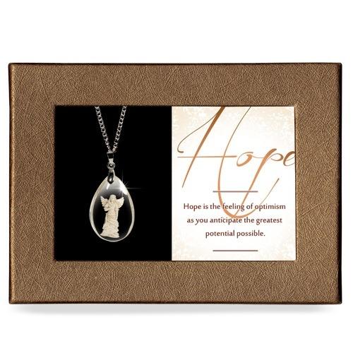 Hope Gift Boxed Angel Pendant