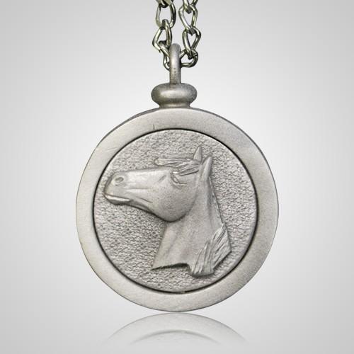 Horse Urn Pendant