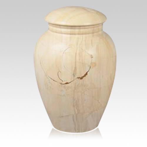 Illume Teak Marble Urn