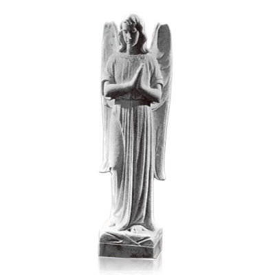 In Prayer Angel Marble Statues