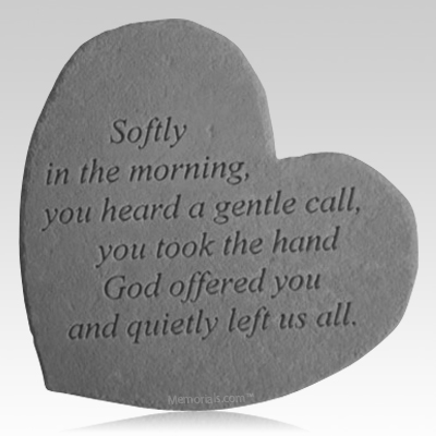 In The Morning Heart Stone