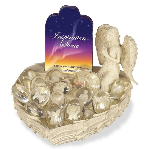 Inspiration Angel Worry Stone Keepsake Set