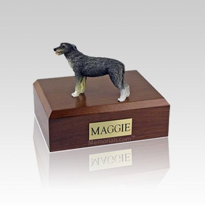 Irish Wolfhound Medium Dog Urn