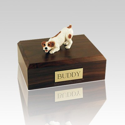 Jack Russell Terrier Brown Small Dog Urn