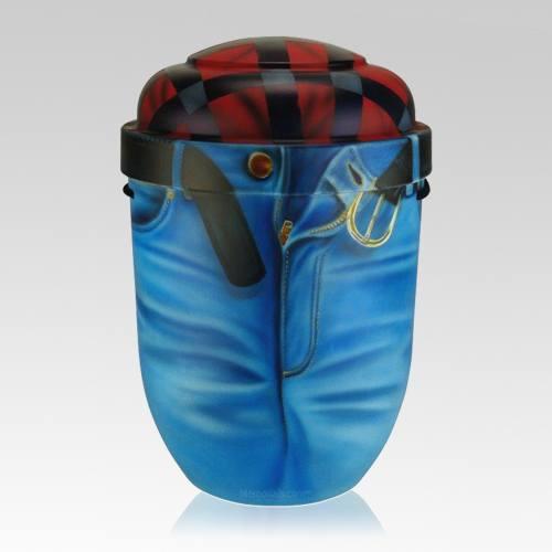 Jeans Biodegradable Urn