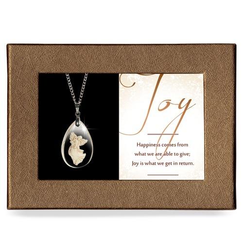 Joy Gift Boxed Angel Pendant