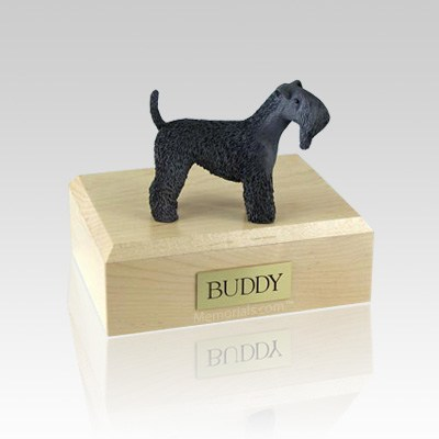 Kerry Blue Terrier Large Dog Urn