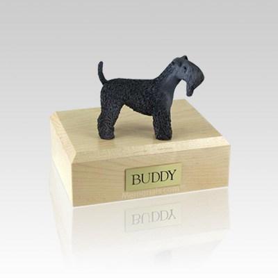 Kerry Blue Terrier Medium Dog Urn