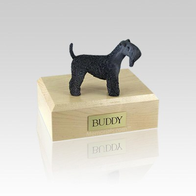 Kerry Blue Terrier Small Dog Urn