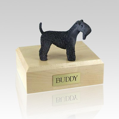 Kerry Blue Terrier X Large Dog Urn