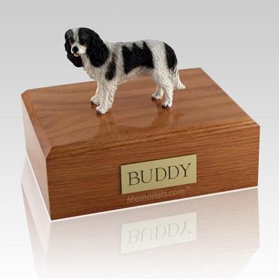 King Charles Spaniel Black X Large Dog Urn