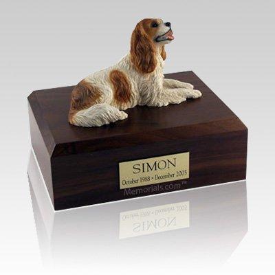 King Charles Spaniel Brown Large Dog Urn