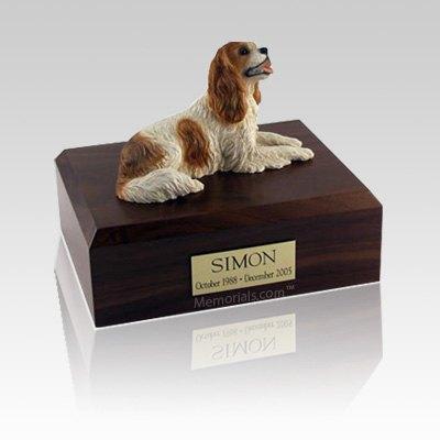 King Charles Spaniel Brown Medium Dog Urn