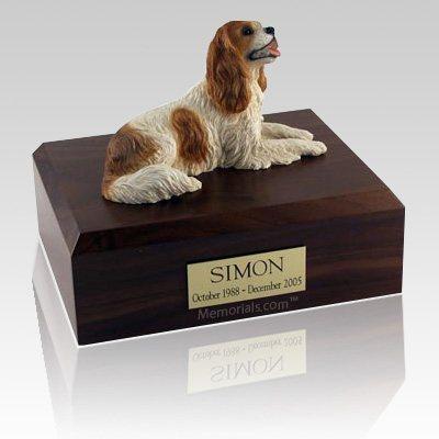 King Charles Spaniel Brown X Large Dog Urn