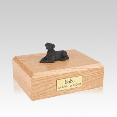 Labrador Black Laying Medium Dog Urn