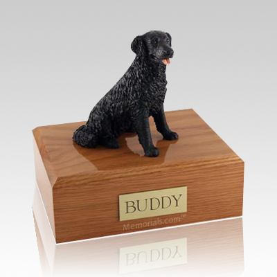 Labrador Black Long-haired X Large Dog Urn