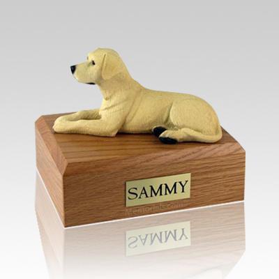 Labrador Yellow Large Dog Urn
