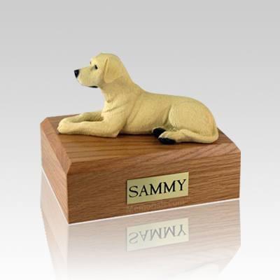 Labrador Yellow Medium  Dog Urn