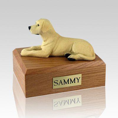 Labrador Yellow X Large Dog Urn