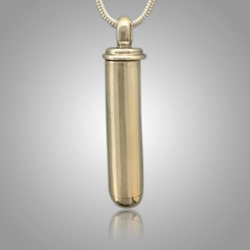 Large Pet Cylinder Memorial Jewelry