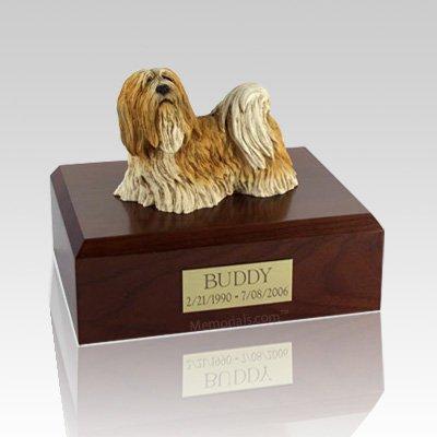 Lhasa Apso Standing X Large Dog Urn