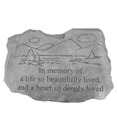 Life Well Lived Mountains Stone