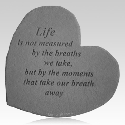 Lifes Measure Heart Stone