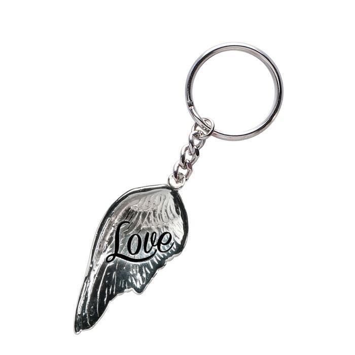 Love Angel Wing Keychain