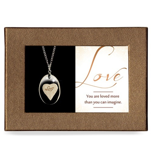 Love Gift Boxed Angel Pendant