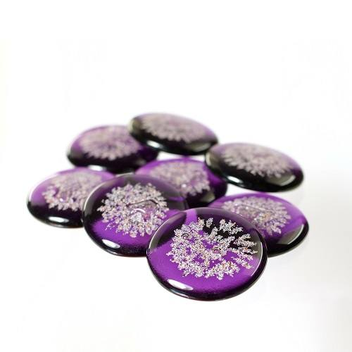 Lovely Lavender Cremation Touchstones