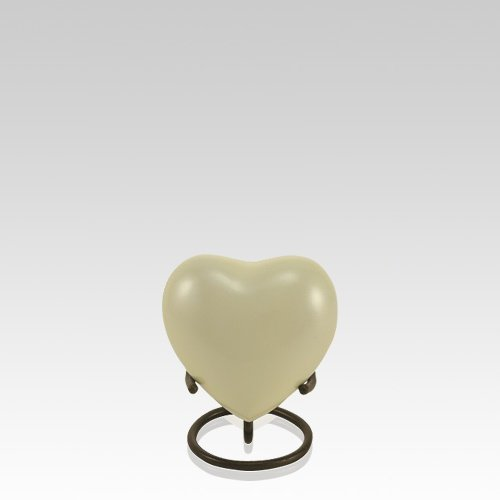 Lumin Day Heart Keepsake Urn