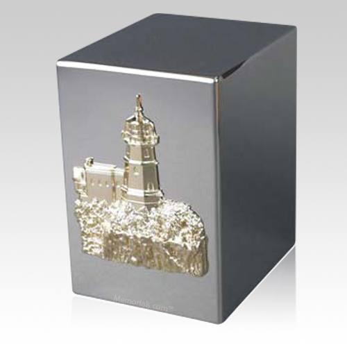 Lustro Cape & Cliff Steel Urn