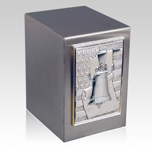 Lustro Liberty Bell Steel Urn