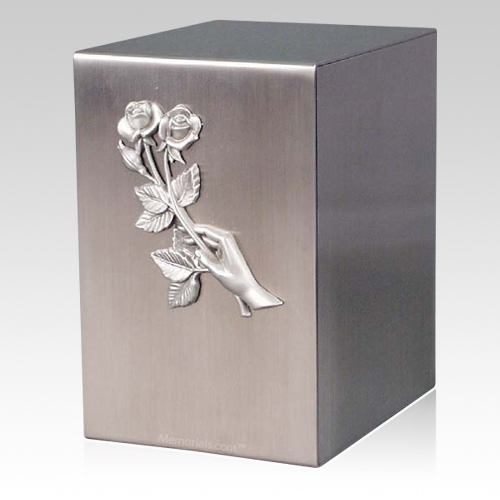 Lustro Remembrance Steel Urn