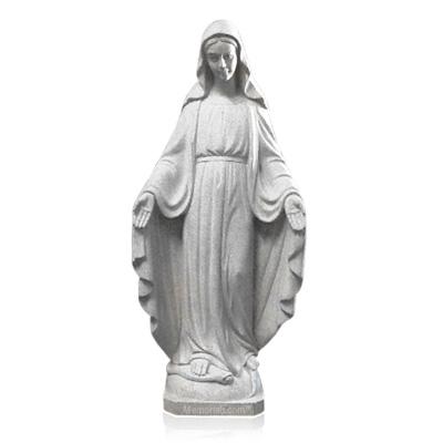 Madonna de Grazie Granite Statue