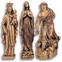 Mary Bronze Statues