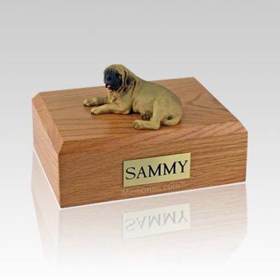 Mastiff Laying Medium Dog Urn
