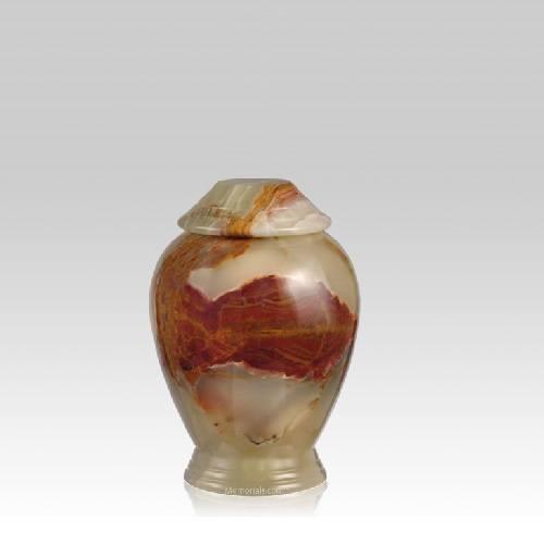 Medium Green Classica Onyx Small Cremation Urn