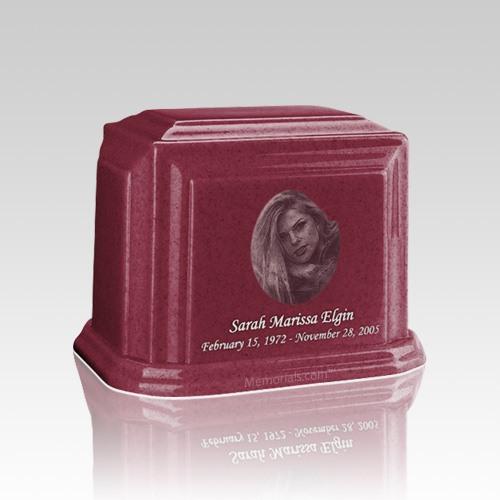 Millennium Raspberry Keepsake Marble Urn