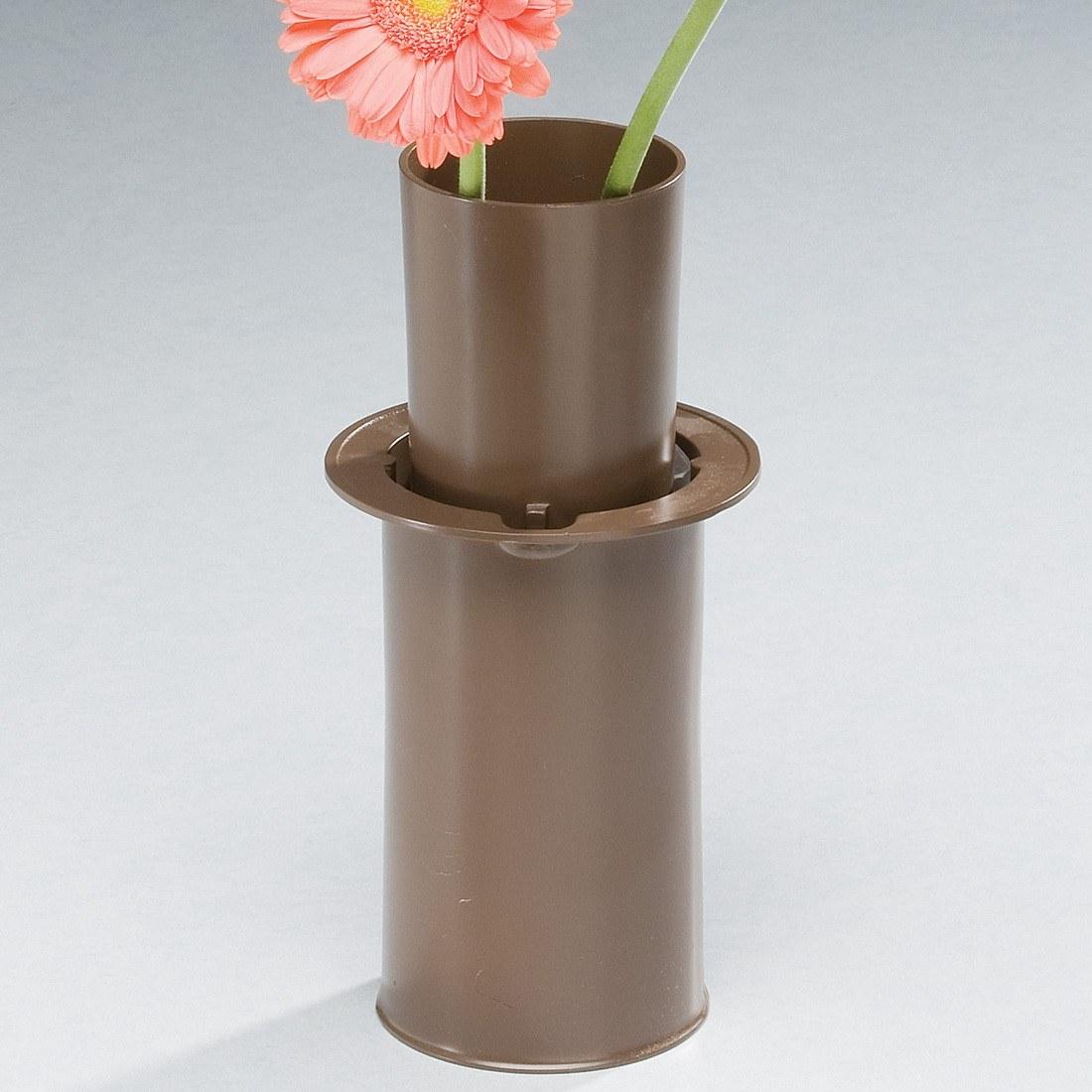 moderne bronze cemetery vase. Black Bedroom Furniture Sets. Home Design Ideas