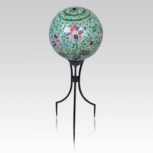 Mosaic Memorial Gazing Globe
