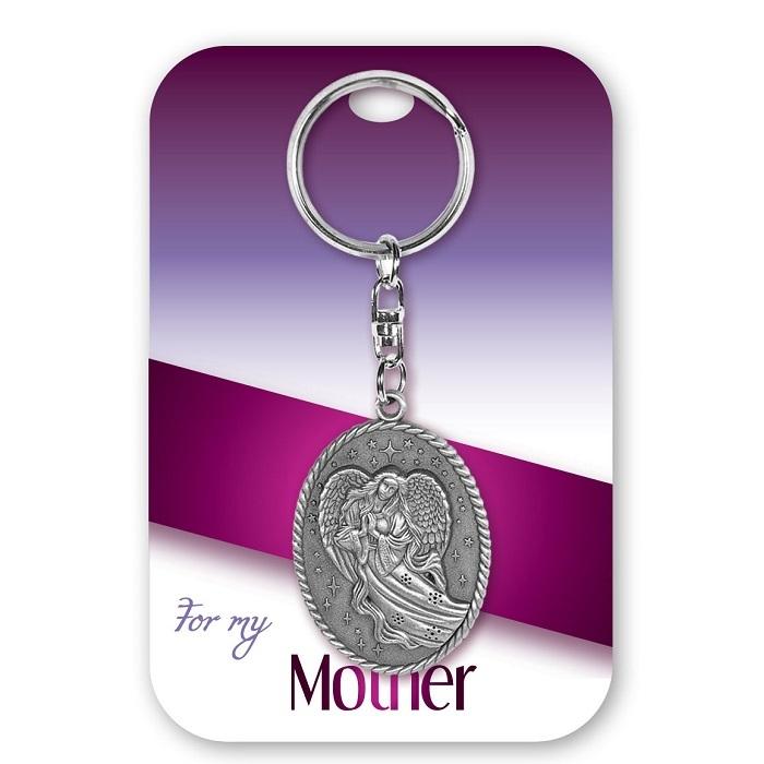 Mother Angel Keychain