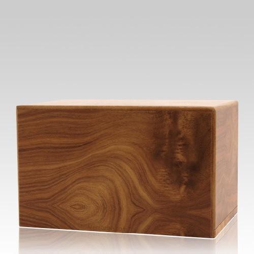 Natural Pet Eternity Medium Wood Urn