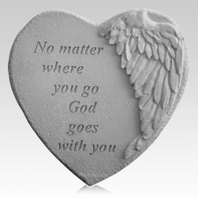No Matter Where Angel Heart Stone
