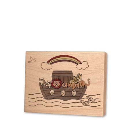 Noahs Ark Children Keepsake Wood Urn