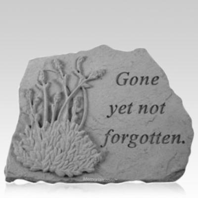 Not Forgotten Lavender Memorial Stone