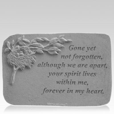 Not Forgotten Nest Memorial Stone