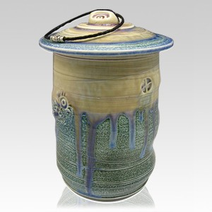 Ocean Temple Cremation Urn