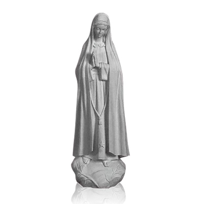 Our Lady of Fatima Medium Marble Statues