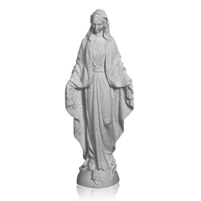 Our Lady of Grace Large Marble Statues